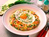 Kartoffelpüree mit Ei Rezept