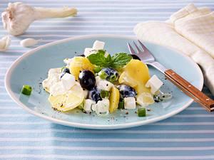 Kartoffelsalat auf griechische Art Rezept