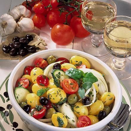 Kartoffelsalat à la Provence Rezept