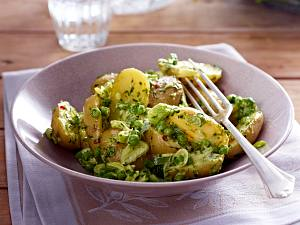 Kartoffelsalat mit Bärlauch-Mayonnaise Rezept