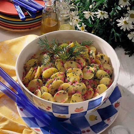 Kartoffelsalat mit Dill Rezept