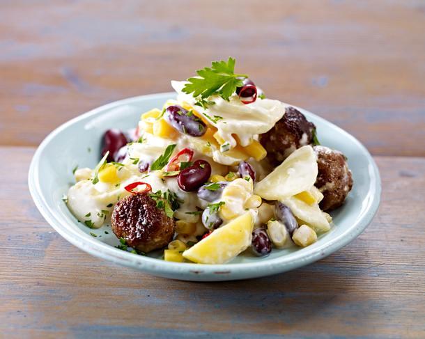 kartoffelsalat mit radieschen lauchzwiebeln und salatgurke rezept chefkoch rezepte auf lecker. Black Bedroom Furniture Sets. Home Design Ideas