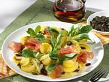 Kartoffelsalat mit Kürbiskernen Rezept