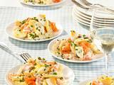 Kartoffelsalat mit Lachs Rezept