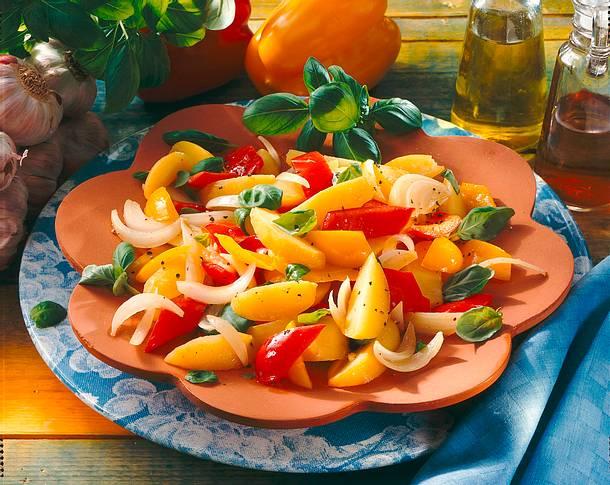 Kartoffelsalat mit Paprika Rezept