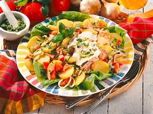 Kartoffelsalat mit Pesto Rezept