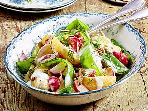 """Kartoffelsalat mit Radieschen """"Frühling to go"""" Rezept"""