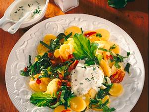 Kartoffelsalat mit Rauke Rezept