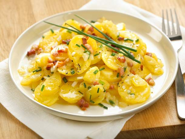 Kartoffelsalat mit Speck Rezept