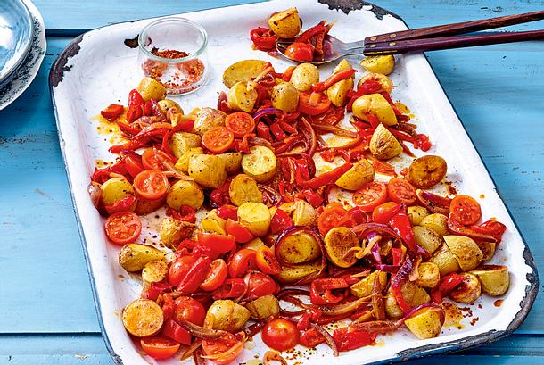 "Kartoffelsalat ""Ofenstyle"" Rezept"