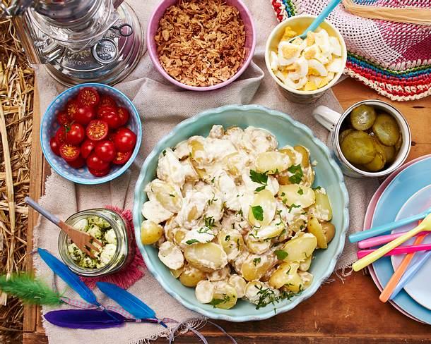 Kartoffelsalat zum Selbermischen Rezept
