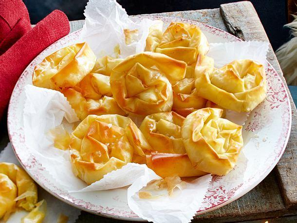 Kartoffelstrudel-Schnecken Rezept