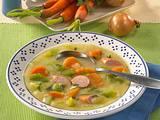 Kartoffelsuppe mit Wiener Würstchen Rezept