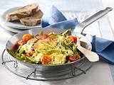 Kasseler-Bohnen-Tomaten-Pfanne Rezept