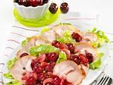 Kasseler-Carpaccio mit Kirschsoße Rezept
