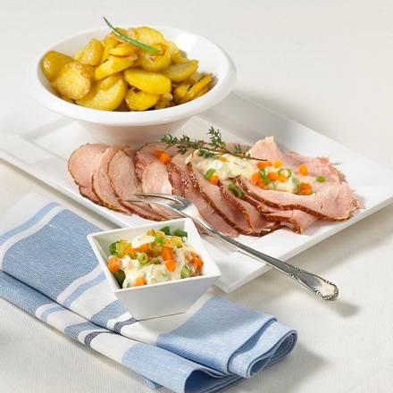 Kasseler mit Gemüse-Remoulade Rezept