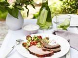Kasseler-Spießbraten und Hohe Rippe vom Grill Rezept