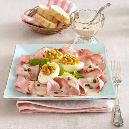 Kasseler tonnato und gefüllte Eier Rezept