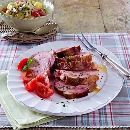 Kasselerbraten mit Kartoffelsalat Rezept