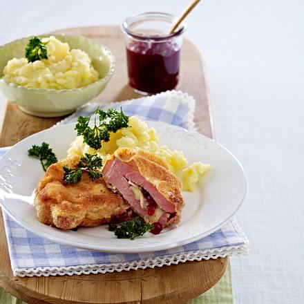 Kasselerschnitzel und Selleriepüree Rezept