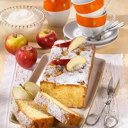 Kastenkuchen mit Äpfeln (Diabetiker) Rezept