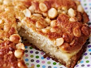 Katrins Nusskuchen mit Vanille-Honig-Creme Rezept