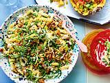 """Keep cool""-Erbsen-Nudel-Salat Rezept"