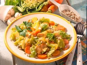 Kernige Gemüsepfanne Rezept