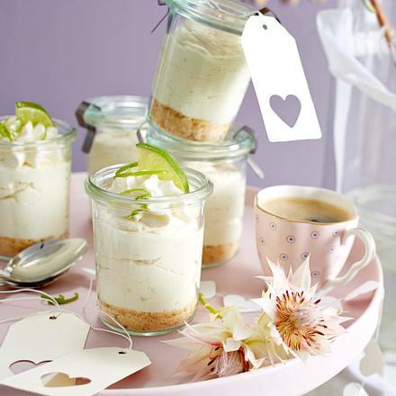 Key-Lime-Pie-Mousse Rezept