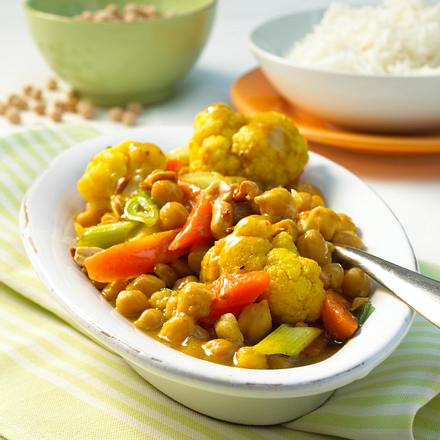 Kichererbsen-Curry Rezept
