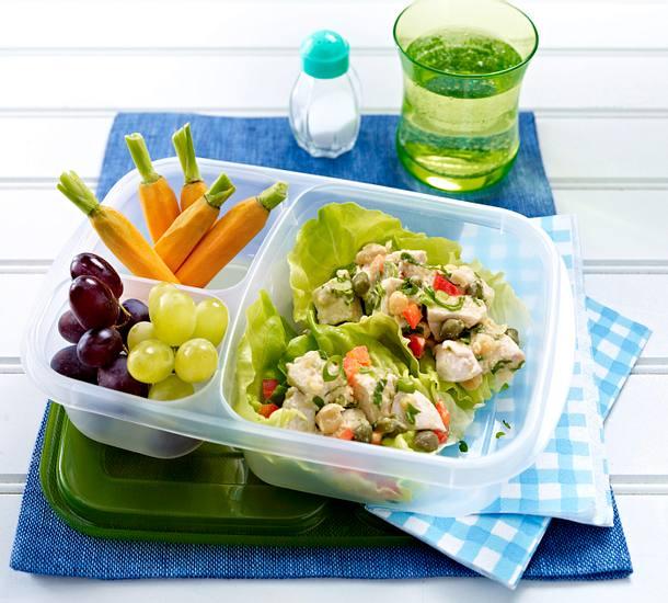Kichererbsen-Hähnchen-Salat Rezept