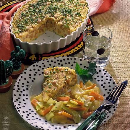 Kichererbsen-Polenta mit Wintergemüse Rezept