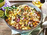Kichererbsen-Salat mit Limetten-Honig-Dressing Rezept