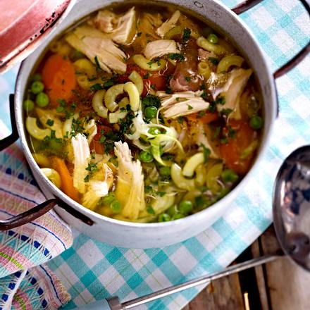 Kick-ass Chicken Soup Rezept