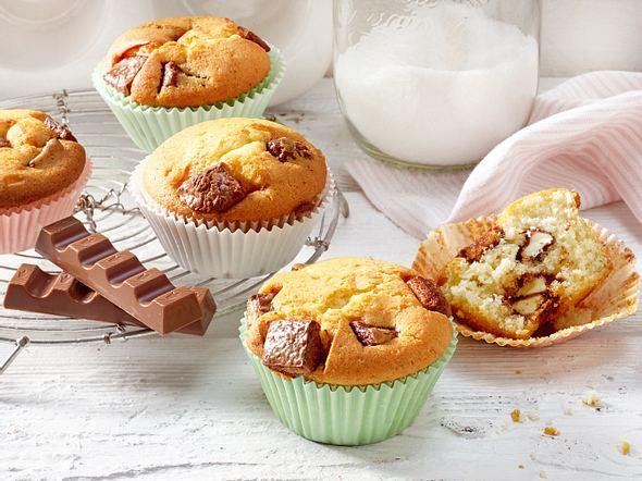 Kinderschokolade-Muffins Rezept