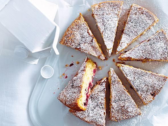 Kirsch-Buttermilch-Kuchen Rezept