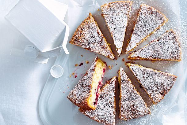 Kirsch Buttermilch Kuchen Rezept Lecker