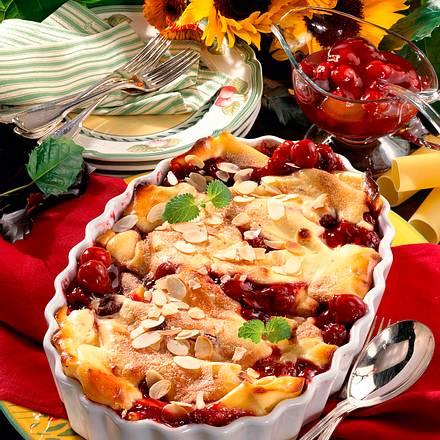 Kirsch-Cannelloni Rezept
