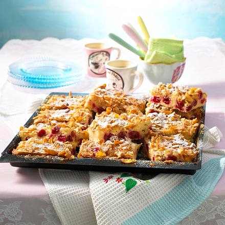 Kirsch-Cornflakes-Kuchen Rezept