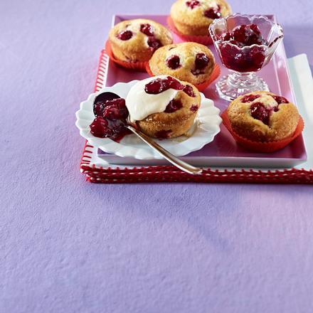 Kirsch-Joghurt-Muffins Rezept