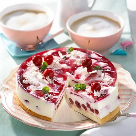 Kirsch-Joghurt-Torte Rezept