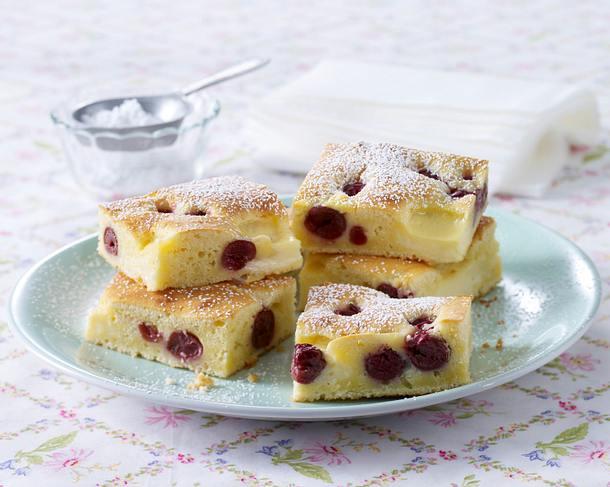 Kirsch-Klecksel-Kuchen Rezept