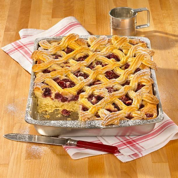 Kirsch-Makronen-Kuchen Rezept