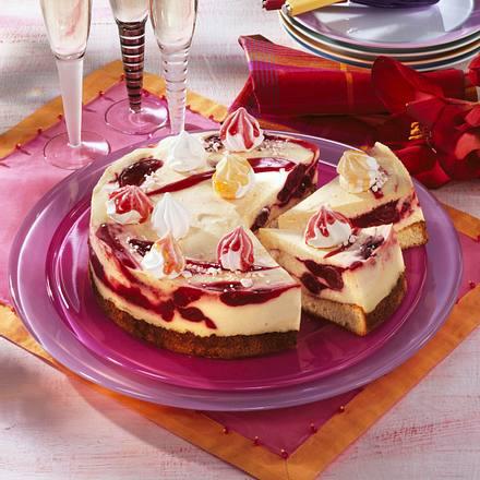 Kirsch-Mango-Torte Rezept