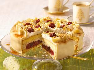 Kirsch-Marzipan-Torte Rezept