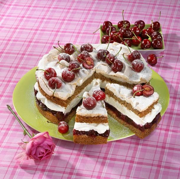 Kirsch-Mocca-Kuchen Rezept