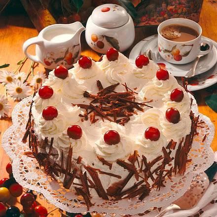 Kirsch-Mokka-Torte Rezept