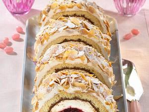 Kirsch-Nougat-Pastete Rezept