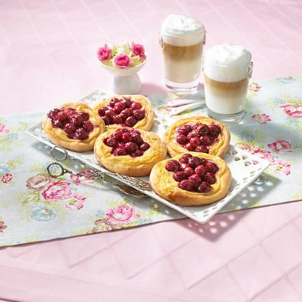 Kirsch-Pudding-Taler Rezept