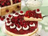 Kirsch-Pudding-Torte Rezept